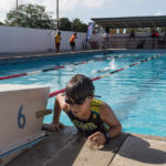 The 2016 Atlantic Primary Schools Triathlon Championships, held at Flying Fish Swim Club, Federation Park, and organised by the Trinidad and Tobago Triathlon Federation. July 3rd, 2016. (Shaun Rambaran / Forge Business Imagery)